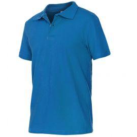 Tricou Polo din bumbac ALBASTRU