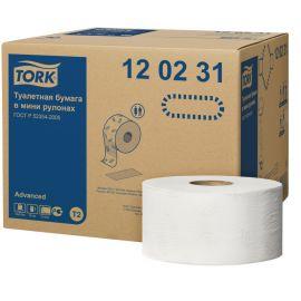 Hartie igienica mini jumbo Tork Advanced 2 straturi