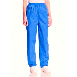 Pantaloni din tercot Bleu Turcoise