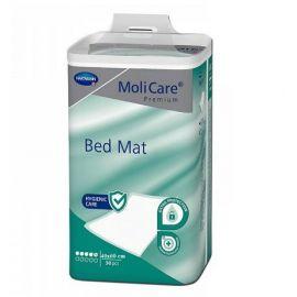 Cearceafuri absorbante MoliCare Premium Bed Mat 5 picaturi 40x60cm 30 bucati