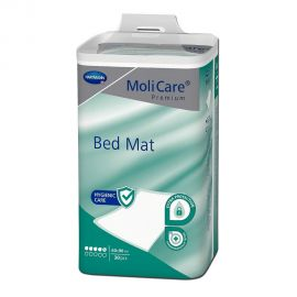 Cearceafuri absorbante MoliCare Premium Bed Mat 5 picaturi 60x90cm 30 bucati