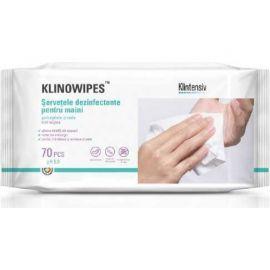 Servețele umede dezinfectante pentru maini 70buc KLINOWIPES