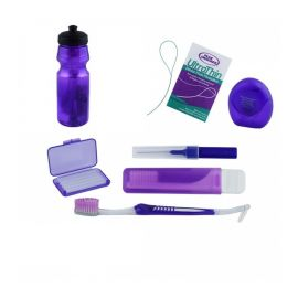 Kit igienizare ortodontic violet in sticla Falcon