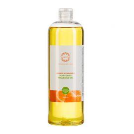 Ulei de masaj Anticelulitic cu Portocale si Scortisoara din Plante, Yamuna 1 L