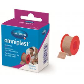 Plasture adeziv pe suport textil Omniplast