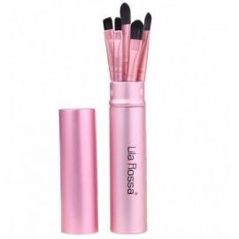 Pensule make-up set 5 bucati PINK Lila Rossa
