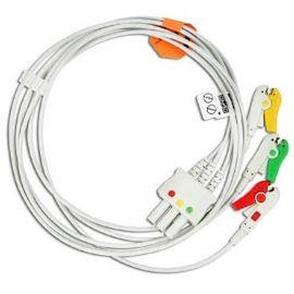 Cablu EKG cu 3 fire pentru Nihon Kohden