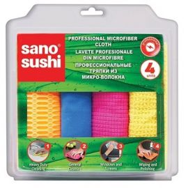 Laveta microfibre profesionala Sano Sushi 4buc