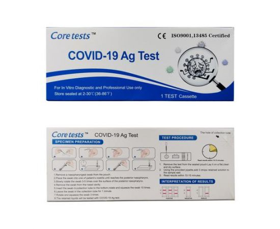 Test Rapid Antigen COVID 19